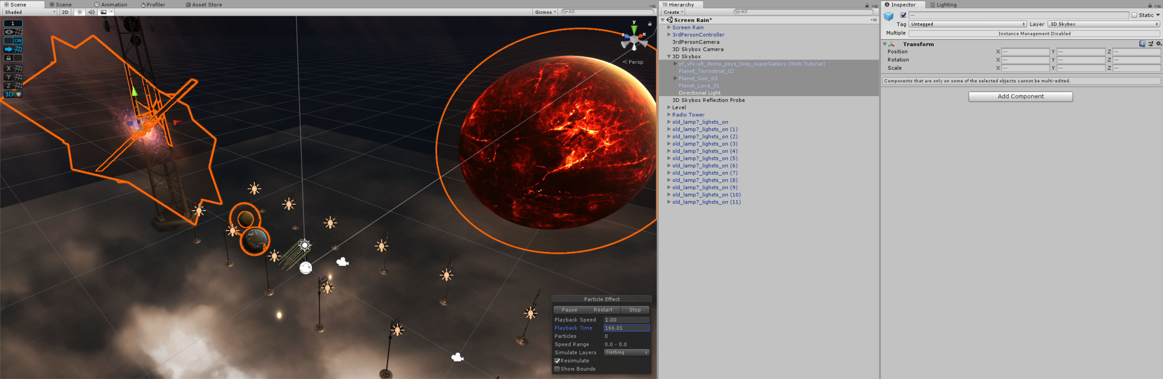 3D Animated Skybox – Mirza's Realm